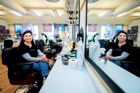 PENSJONERES: Etter 38 år som frisør skal Quy Thi Fremgaard-Do (69) stenge salongen og gå av med pensjon.