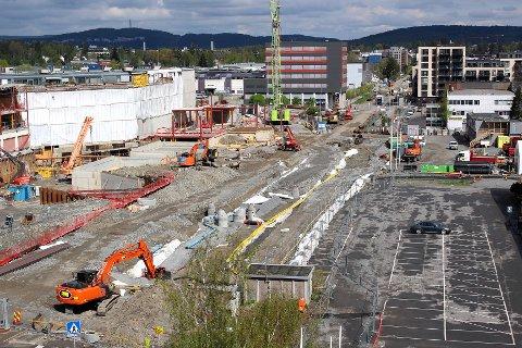 STORSATSING PÅ SOSIAL INFRASTRUKTUR: Den pågående utbyggingen av Skårersletta med Skårerparken er blant de største infrastrukturprosjektene i Lørenskog akkurat nå.
