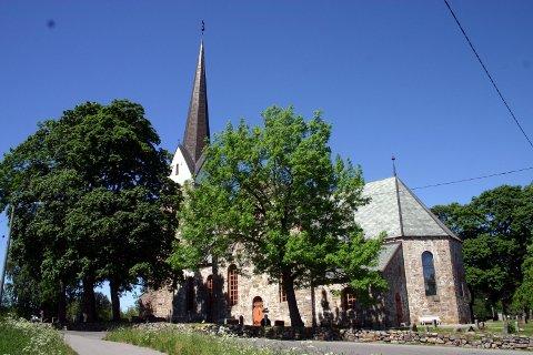 Skedsmo kirke er blant kulturminnene som blir undersøkt med tanke på konsekvenser av klimaendringer.