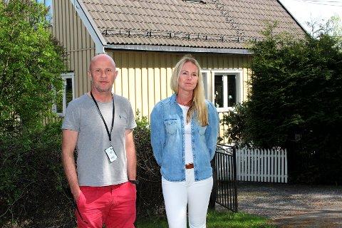 FORTVILER: Mens Ronny Ulvåknippa og kjæresten har overtatt huset i Trygves vei, vil eks-kona Torill Bjørnson og kjæresten bygge nytt hus i hagen. Nå risikerer de at kommunens nye verneplan legger den drømmen i grus.