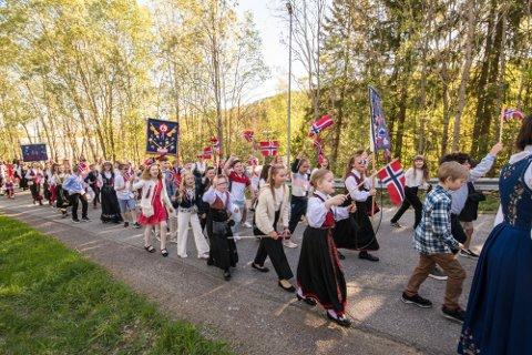 AVLYST: I år, som i fjor, vil det ikke gjennomføres barnetog i Romerikes kommuner.
