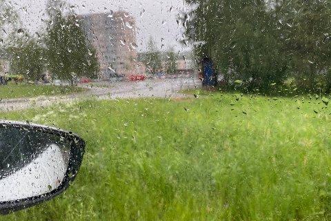 VÅTT: Det kommer nedbør over store deler av Romerike i timene framover.
