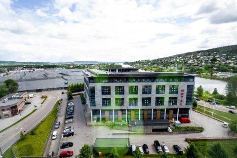 KARANTENEHOTELL: I helga ble Thon Hotell Arena i Lillestrøm etablert som et karantenehotell på grunn av stor pågang på Gardermoen.