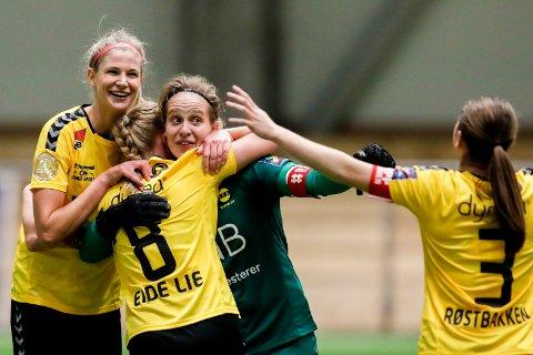 Ikke bitter: Ida Nordstrøm sier hun ønsker Cecilie Fiskerstrand velkommen tilbake i LSK Kvinner. Sin egen framtid har ikke keeperen tatt stilling til ennå.
