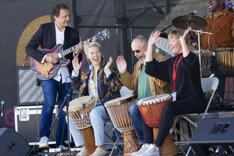 Global Gathering Festival arrangeres for tredje gang. Bildet er fra fjorårets festival.