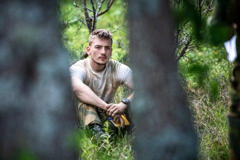 Anders Næss er på opptak til krigsskolens årsstudium i ledelse og militære operasjoner.