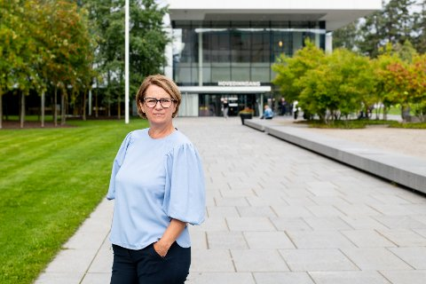 BEKYMRET: Tone Wilhelmsen Trøen er redd for at Sp og SV kan reversere de vedtatte sykehusplanene for Oslo: – Vi trenger ikke nye, lange utredninger og ny usikkerhet. Vi trenger å komme i gang i Oslo, sier hun.