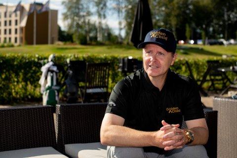 STOLT: Ronny Hermansen fra Kløfta er godt fornøyd med støtten han og organisasjonen GoldenChild har fått de siste årene.
