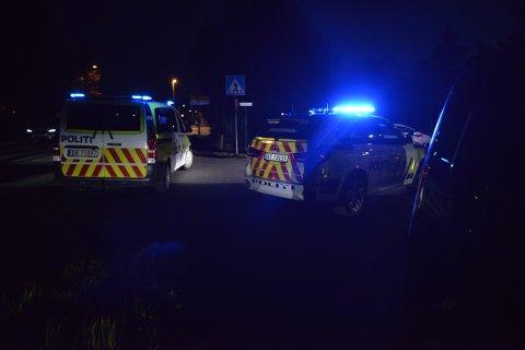 LETEAKSJON: Politiet ble tiltalt til en bryllupsfest på Kløfta på søndag etter at en mann skal ha møtt opp med en pistol og oppført seg truende.