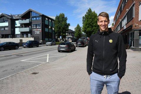 STORTRIVES: Thomas Lehne Olsen har aldri hatt det bedre og levert bedre i LSK. Et eventyr i utlandet går han ikke rundt og tenker på.
