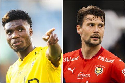 Attraktive: Igoh Ogbu (t.v.) og Kaan Kairinen blir i LSK. Hadde Åråsen-klubben måtte selge, er sportssjefen sikker på at begge ville gått for betydelige millionbeløp.