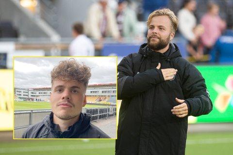 BRØDREDUELLEN: Sander Svendsen (t.h.) er stolt over at lillebror Tobias (lille bildet) sto fram med angstproblemene sine tidligere i år. Lørdag kan de møtes når Odd møter LSK.