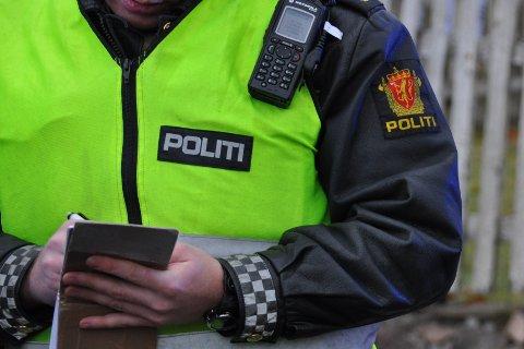 HEKTISK: Politiet har hatt nok å gjøre på Hurumhalvøya denne helgen.