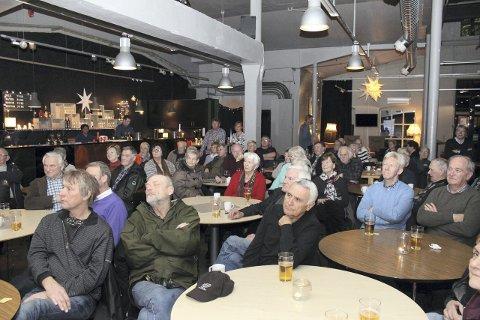 FOredrag: Rundt 60 kom for å høre Terje Martinsens foredrag om de 200 siste årene i Røyken.