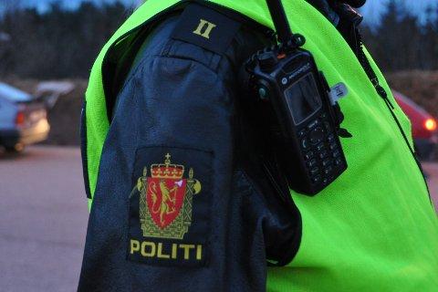 PÅ SAKEN: Politiet har sikret spor, men oppfordrer folk til å låse dører og sikre løse verdigjenstander. Meld fra til politiet ved observasjon av mistenkelig aktivitet.