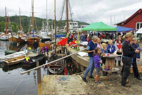 MARITIM KULTURDAG: Den årlige Kulturminnedagen i Promhavn Slipp i Nærsnesbukta tilbyr en rekke aktiviteter for unger i alle aldre og mye å se på for både små og store.