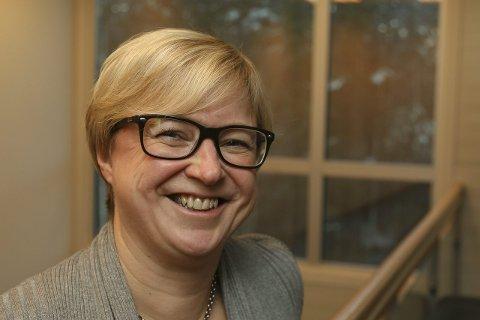 LEDER: Ordfører Eva Noren Eriksen utgjør nå generalforsamlingen i to store kommunale aksjeselskap i Røyken.
