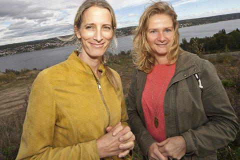 HÅPER: Lærerne Anne-Line Bjerknes (t.v.) og Marianne Arctander håper på politikernes støtte for å få til prøveordningen på andre siden av fjorden.Foto: Henning Jønholdt