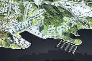 DEBATT: Det blir spørsmål og debatt om utbyggingsplaner i Slemmestad på folkemøte den 30. november.