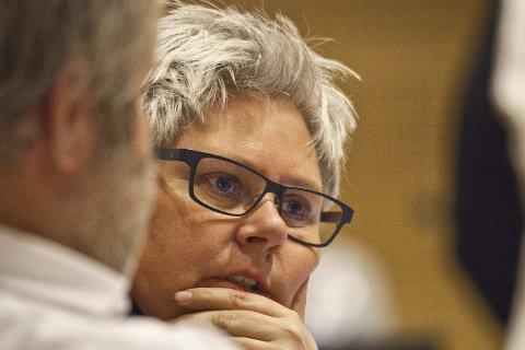 INVESTERINGSVILJE: Heidi Sorknes (H) og posisjonspartiene i Hurum ønsker å investere stort de neste årene frem mot kommunesammenslåing.Arkivfoto: henning Jønholdt