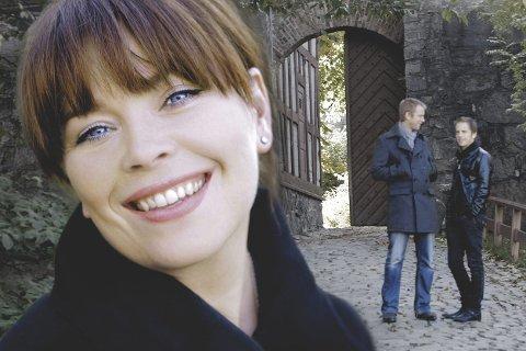 PÅ JULETURNÉ: Solveig Slettahjell, Tord Gustavsen og Sjur Miljeteig byr på en sjelden mulighet i slemmestad kirke onsdag kveld.