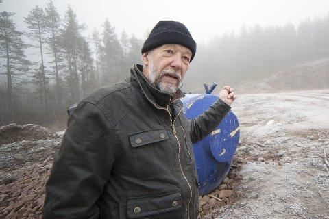 SKUFFET: Martin Berthelsen tok saken opp i siste kommunestyret, men er skuffet over at ordføreren i Hurum ikke går mer aktivt inn for å be om vern av det aktuelle området.
