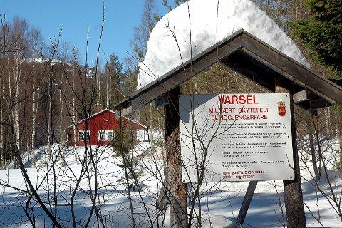 SOLGT: Forsvaret har trukket seg ut av Avgrunnsdalen i Hurum, etter at de solgte det nær 1 000 mål store området til kommunen i 2015.