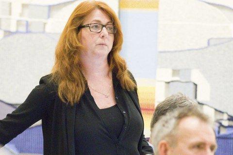GOD NYHET: Elisabeth Holter-Schøyen i Røyken Venstre.