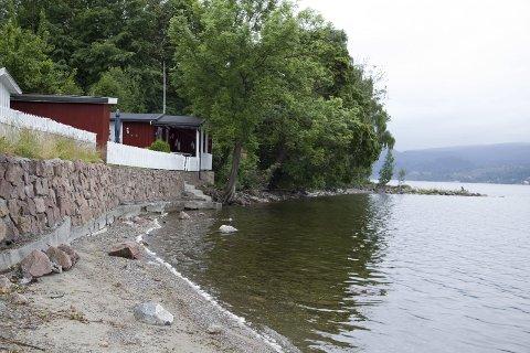 TO MILL: Denne eiendommen i Grimsrudveien på Hernestangen er sikret for allmennheten, og fikk en prislapp på to millioner kroner.