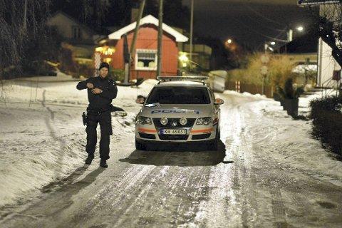 24-åringen ble truet med machete og øks under det brutale ranet.  Arkivfoto: Rune Folkedal
