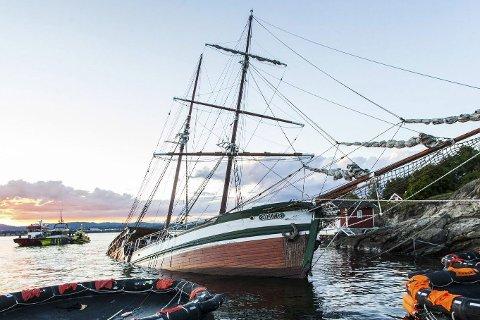 MYSTERIUM: Forliset utenfor Nesodden lørdag kveld er fortsatt et mysterium.