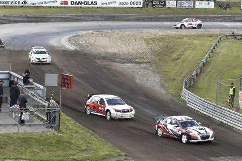 SMALT: Christian Sandmo ledet helt til han ble innblandet i en smell og falt ned på 4. plass. Foto: Roy Sandmo