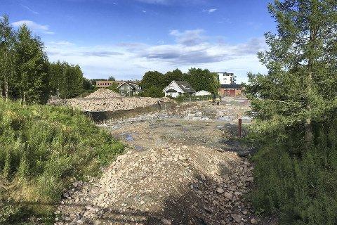 STARTER: I morgen starter byggingen av kulturkirken på Spikkestad etter at arbeidene stoppet opp i fjor.