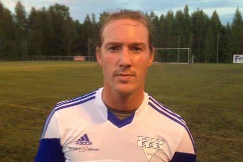 Tomålsscorer for ROS, Kristoffer Lindberg.