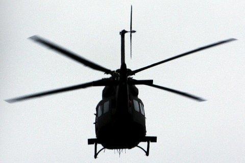 STØY: Det er militærhelikoptere som støyer.Foto: NTB