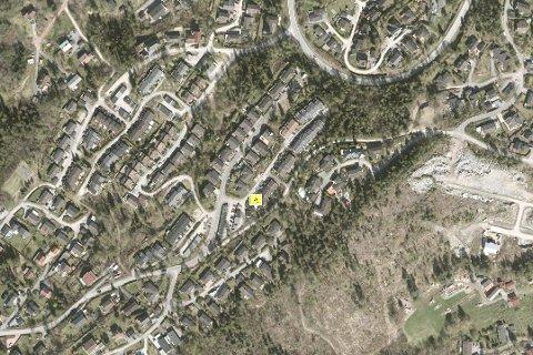 VAR UTEN VANN: Blant annet Beverveien i Slemmestad var uten vann onsdag morgen.
