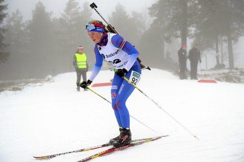 I FORM: Sofie Bergan Bjaadal imponerte da hun ble nummer tre på åpningsdistansen og samtidig sikret seg sin aller første NM-medalje.