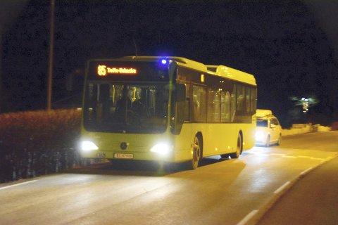 ØKT TILFREDSHET: Kundene til Brakar er ifølge deres egen undersøkelse mer tilfreds med busstilbudet i 2019 enn i 2018.