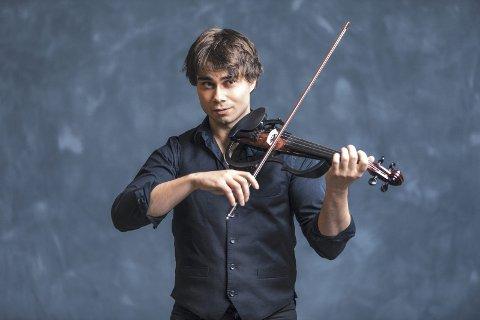 TIL FRYDENLUND SKOLE: Multitalentet og verdensstjernen Alexander Rybak. Pressefoto