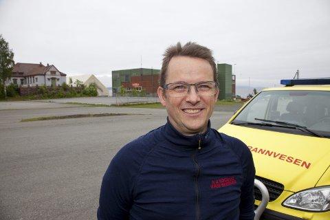 VALG: Brannsjef Nils Georg Nordskag ser frem til at Hurum får ny brannstasjon.
