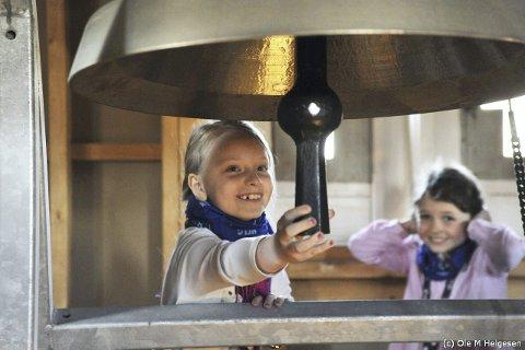 PÅ NYE TOKT: I helga skal sjuåringene i Røyken ut på oppdagelsesferd som tårnagenter. Foto: Ole M. Helgesen