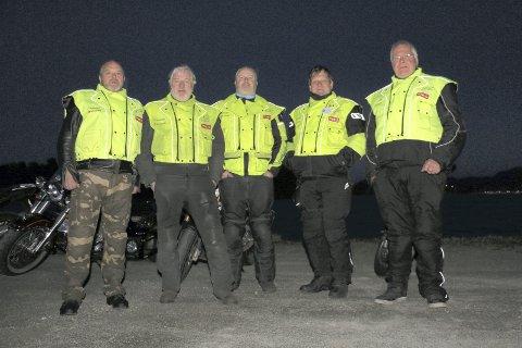MC_RAVNER: MC-ravnene i Røyken opererer over hele kommunen og fikk penger av RHA til sambandsutstyr.