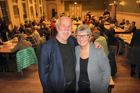Sten Stensen og kona Inger Johanne.