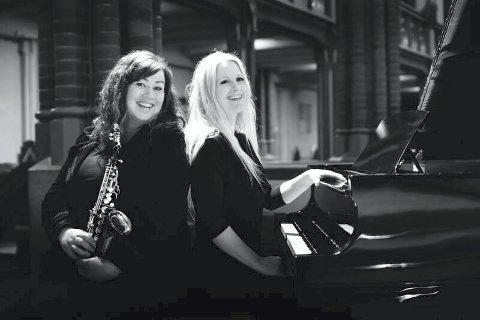 SAMSPILL: Frøydis Grorud og Trude Kristin Klæbo har hatt et musikalsk samarbeid i flere år, og til oslok kommer de til Åros kirke for å spille.