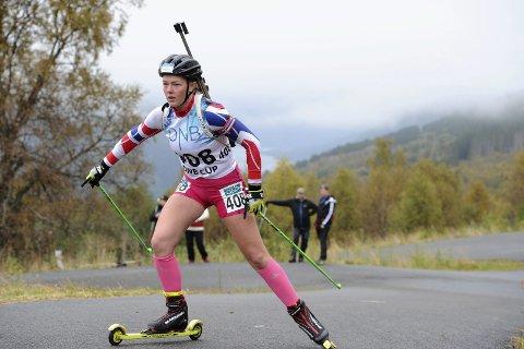 SATSER VIDERE: Sofie Bergan Bjaadal har hatt en fin utviklingskurve. Bødalen-talentet håper å ta nye steg det neste året.