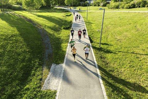 NEDPRIORITERT: Folk i Buskerud mangler motivasjon for å trene oftere. Foto: Johnny Vaet Nordskog