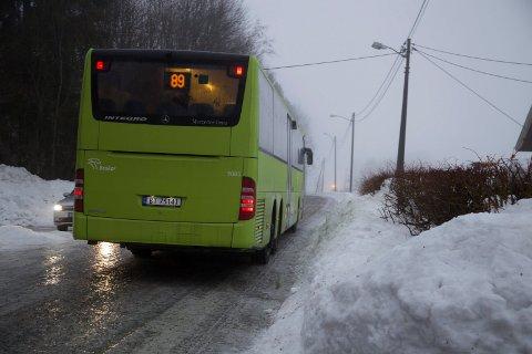 FIKK KRITIKK: Innbyggerne på halvøya er langt fra fornøyd med Brakars busstilbud.