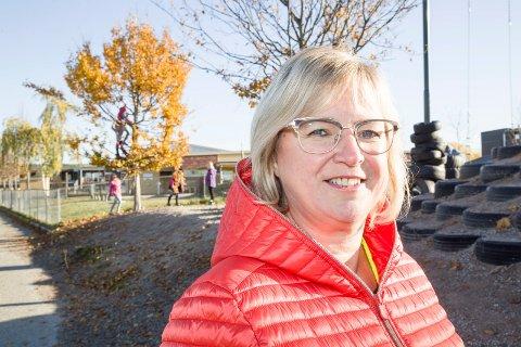 FORNUFTIG: Ordfører Eva Norén Eriksen i Røyken mener det er fornuftig av Statens vegvesen å droppe Vikeralternativet.