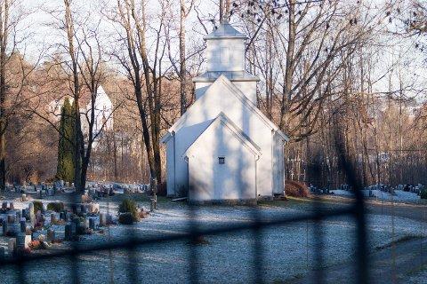 GRAVPLASS: Kremasjon koster nå 2 000 kroner, Her fra Slemmestad kapell