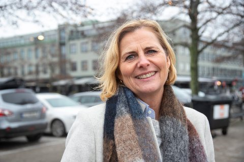 AVVENTER: Monica Vee Bratlie er glad for at Oslo kommune sier de vil selge eiendommen på Verket til Hurum kommune. Arkivfoto: Henning Jønholdt